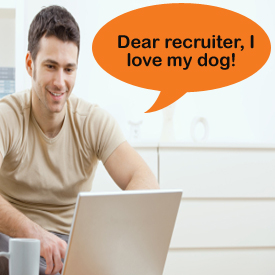 dear recruiter, I love my dog on Pronexia.com