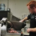 Heath slicing meat