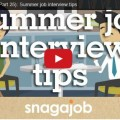 summer interview tips