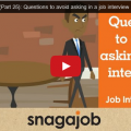Questions to avoid asking in a job interview