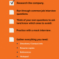 Blog - Interview Checklist