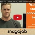 Video - What does customer service mean to you?