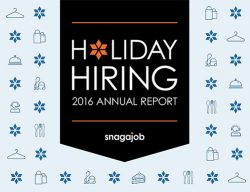2016 Snagaob Holiday Hiring Annual Report