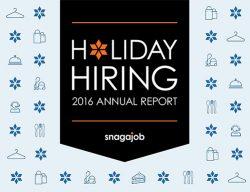 2016 Snagaob Holiday Hiring Annual Report