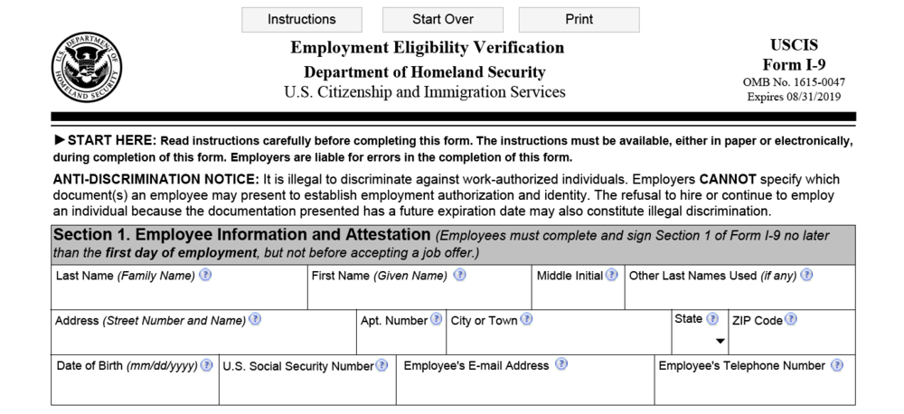 New Form I-9 Released … What Now? | Snagajob