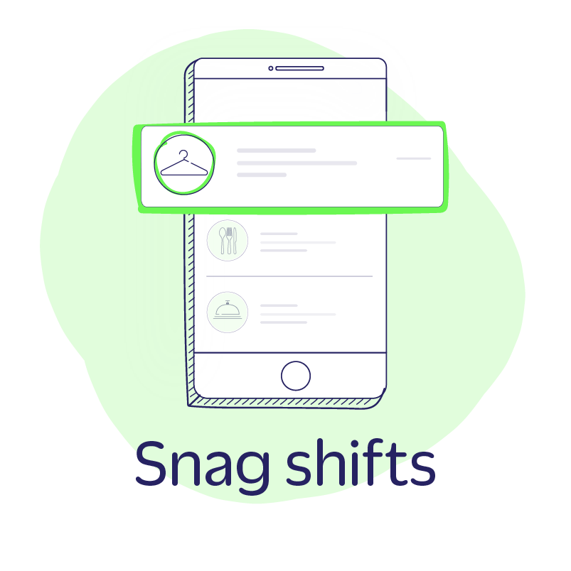 Step Four: Snag Shifts